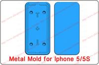 3d sublimation case metal mold for iphone 5/5S diy case mold clamp for iphone 5/5S