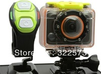 New! 1080P HD Mini Sports Action helmet Camera GoPro Style With WIFI  60M Waterproof with remote
