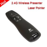 R400 USB Wireless RF Remote Powerpoint control IR PPT Presenter Laser Pointer presentation presenter pen Free shipping
