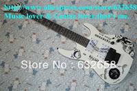 2013 Popular Selling Top Quality OUIJA Edition Kirk Hammett Signature Electric Guitar Alder Body and Ebony Fretboard