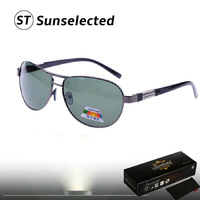 Free dropshipping New Fashion 2014 Men's Sports Glasses Metal w/ Polarized Lens Tops for Outdoor Dress PR17