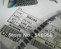 SMD fast recovery diode    SS24  SK24  SMA.SMB.SOD  DO-214AC   SR240 2A/40V