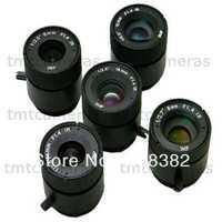 Wholesale 3 megapixel 4mm 6mm 8mm 12mm 16mm CCTV Camera CS Mount Lens For CCTV Security IP Camera