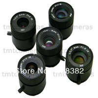 Wholesale 3 megapixel 4mm 6mm 8mm 12mm 16mm CCTV Camera CS Mount Lens For CCTV Security IP Camera