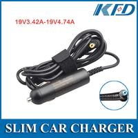 19V 3.42A 65W For Acer ACER ASPIRE 1410 Car charger For For Acer Aspire 1200 1410 1450 1640  5517
