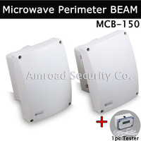 1Pair Outdoor 150M Wired Microwave Perimeter Barrier BEAM Curtain-Beam Detector for Fence Farm Yard etc. MCB-150, FREE SHIPPING