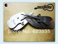 pretty smooth stainless steel  guitar picks plectrum