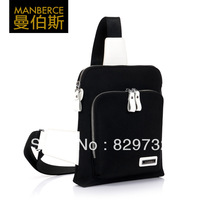 Free shipping Male chest pack 2013 summer fashion men waist pack mobile phone bag small canvas messenger bag