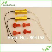 2pcs/lot Auto LED Signal Turn Indicator Fog Light Car Canbus Error Free 50W 6OHM Load Resistor