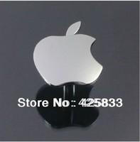 8pcs Single Apple Chroming Znic Alloy Knobs Kitchen Dresser Baby Handles Drawer Pulls Kids Furniture Recessed Door Handle