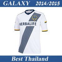 Los Angeles Galaxy 14 15 Jersey Donovan Keane Beckham Jersey Home Soccer Jersey Best Thail Quality Football Soccer Uniform