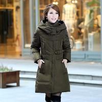 White Duck Down Coat Plus Size L-3xl 4xl 5xl High Quality Women's Casual Dress 2014 New Winter Woman Parkas Coats Female Jacket