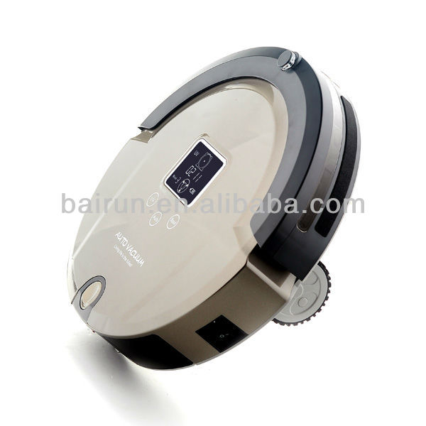 (Free To All Country) 2015 Newest Vacuum Cleaning Robot With Virtual Wall, LCD Touch Screen, Remote Control, UV Lamp Sterilizer(China (Mainland))