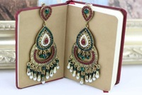 Latest Vintage Earrings of Royal & India Style Women Statement Jewelry Free Shipping Nickel Free 1101882