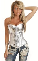 Popular and sexy women sexy bustier and corset lingerie white