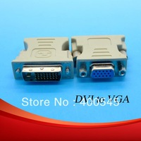 New DVI to VGA cable Adaper Connector Converter Free Shipping by China post