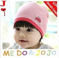 fast shipping 1 pcs  M024-1  freeshipping! little car   baby beanies  Kids caps Cotton Beanie Infant cap children hats