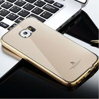 """Brand Mooke Custom Love Forever Luxury Bling Diamond Rhinestone Metal Aluminum Frame Bumper Case For iphone 5 5S 4.7"""" Cover Skin"""