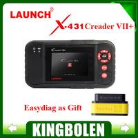 [Authorized Distributor] Launch X431 Creader VII+ Creader VII Plus Auto Code Reader Equal CRP123 Update Via Offical Website