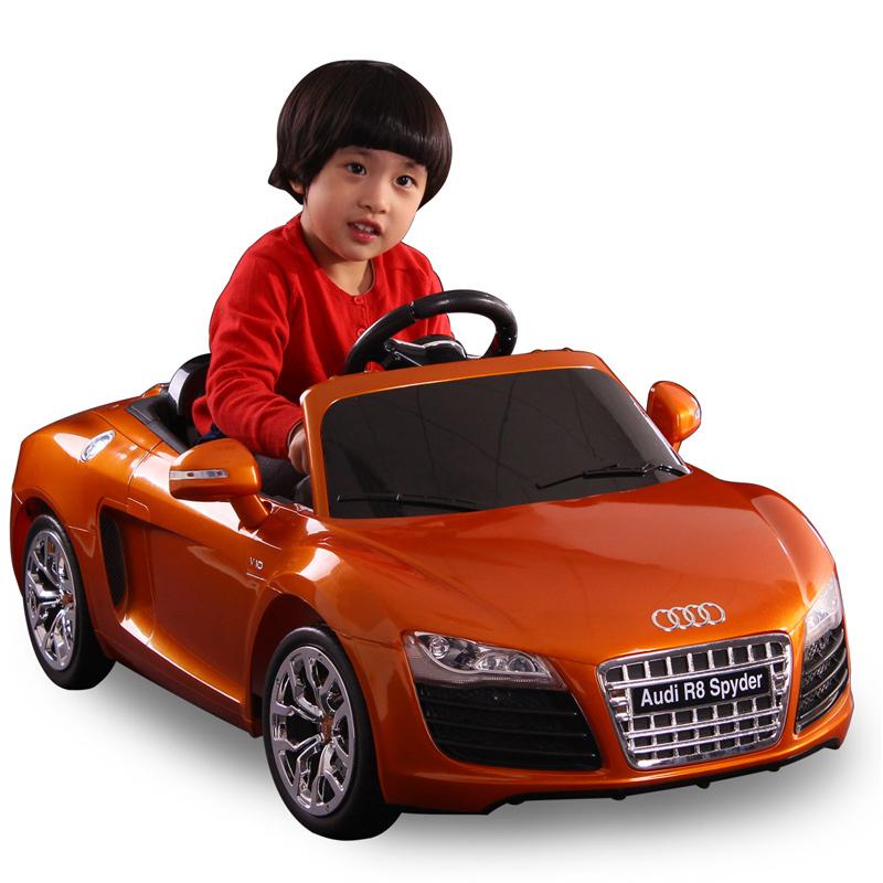 Motorized kids ride on electric cars for audi r8 spyder 1 Motorized kids toys
