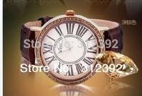 JULIUS Brand Women Watch Lady Fashion Quartz Wrist Table Lizard Leather Band Roman Numerals Gift Excellent Quality JA-383