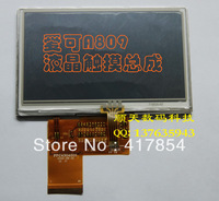 Free shipping 4.3 inch LCD wiht touch screen for ACHO A809 ,ACOO A809  Display screen,40pin LCD SCREEN,Cable FPC4304006