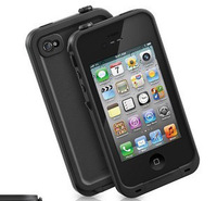 Brand New 10pcs/lot  DHL Free Shipping 11Colors Lifeprof WaterProof Shockproof Dirtproof Case For iPhone 4 4S