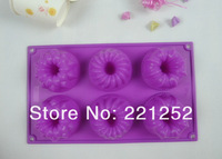 Silicone Bakeware Cake Mold Baking Cakes Pan Muffin Pans Jelly Form Puddin Mould Cake Tools Kitchen Accessories(FDKP-7061)