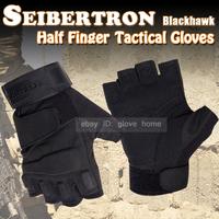 seibertron gloves BlackHawk Hell Storm Tactical Half Finger /fingerless Gloves Motobike Motorcycle bike Cycling Racing Gloves