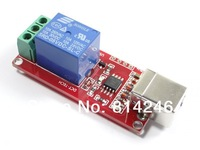 Free shipping, USB Relay 1 Channel Programmable Computer Control For Smart Home