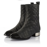 brand design genuine leather motorcycle boots for women, martin boots and woman winter shoes
