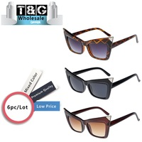 Steampunk Cat Eye Sunglasses Women Brand Designer Points Sun glasses Retro Vintage Woman Oculos De Sol Gato Lentes Wholesale