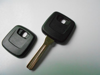 Replacement Car Key Shell for Volvo with Groove on middle of blade no logo