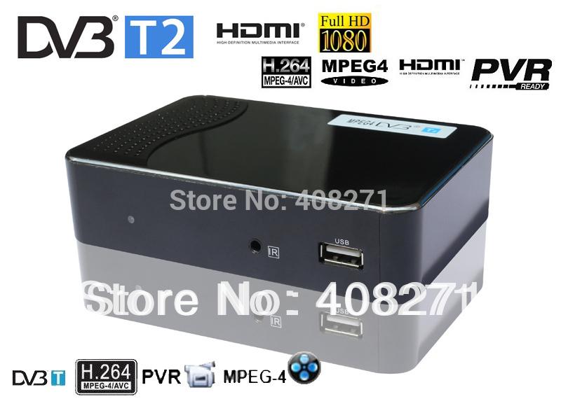 HD Mini DVB-T2 receiver support dvb t tuner mpeg-4 Original MSD7816(China (Mainland))