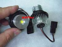 5W white LED Marker Angel Eyes Light case for BMW E39,E53,E60,E61,E63,E64,E65,E66,E87 (560), plug and play, no alarm