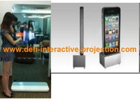 "2  fingers points 50""  Infrared multi touch screen frame panel kits  for touch kiosk"