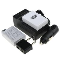 (4pieces/set)  LP E8 Rechargeable 2pcs Battery+LP-E8 Battery Charger+Car Charger for Canon 550D 600D 650D Rebel from Aliexpress