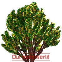 10pcs HO scale Model Tree Wire Sponge Tree garnet 21cm Y210