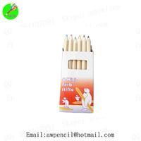 Customized 3.5 inch jumbor hexagonal color pencils  ,LH-225