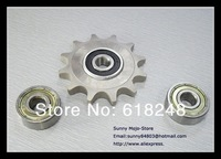 Motocycle Chian Guide Sprockets Chain Tension Roller 428H Shaft Bearings Backup Chain Tensioner Front Sprocket/ Rear Sprocket