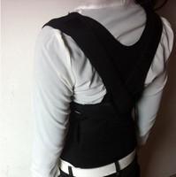 Free  Shipping  1 pcs Custom Made Adult XXXL Correct Posture Corrector Back Support Belt Vest Brace