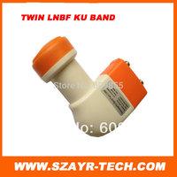 High Quality!Universal Ku-Band Twin LNBF Dual LNB free shiping