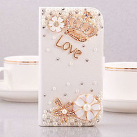 Luxury Rhinestone Bling Crown Case For Sony LT221 With Retail Package Free Shpping Gift Box