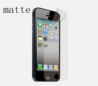High quality Matte Screen Protector Film  for iphone5 with Retail Package 10pcs/lot Free Shipping