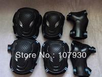 Free shipping Adult skating protective gear set , Good Quality kneepad armfuls inline skating shoes gloves roller skates