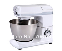 Free Shipping Die-Cast aluminum housing Stand Mixer with Pasta Machine & Meat Grinder & Salad Express HA-3481W