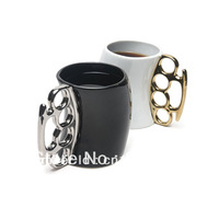 Fist Coffee Cup Drinkware Mug Beer Zakka Mugs And Cups Novelty Items Tilt Tea Cup Battery Changing Mug Novelty Households Gift