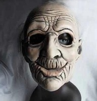 Wrinkle Old Men/person Aged man Mask Halloween Movies Theme Party Cosplay Theater props masks free shipping Wholesale