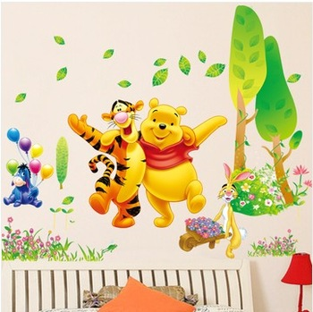 Eco-friendly home accessories sticker living room background wall child real wall stickers