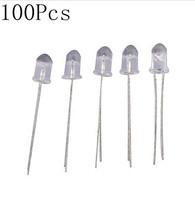 14000 -16000mcd 5mm White Led (100Pcs)